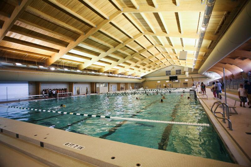 Water sports in Pearland are supported by high end                 recreation centers